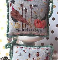 Lindy Stitches ~ Mr & Mrs Delicious