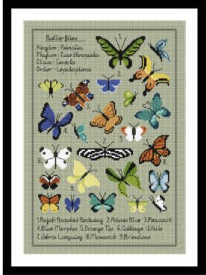 Little Dove Designs ~ Kaleidoscope Butterfly