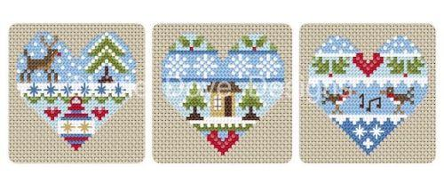 Little Dove Designs ~ Festive Hearts