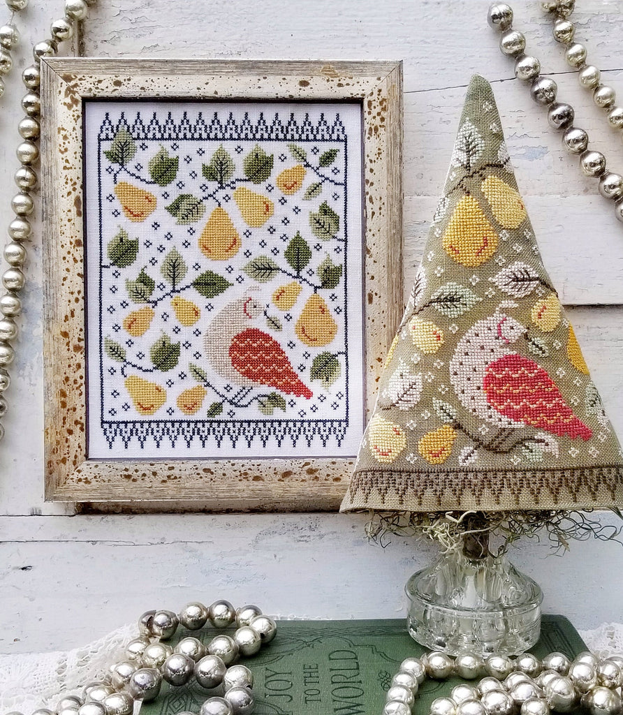 hello from Liz Matthews ~ First Day Of Christmas Sampler& Tree
