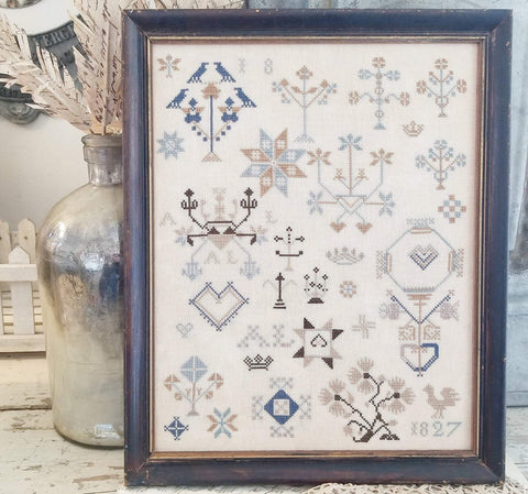 hello from Liz Matthews ~ A.L Motif Sampler