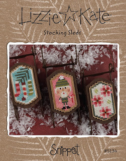 Lizzie Kate Snippets ~ Stocking Sleds