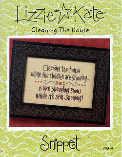 Lizzie Kate Snippets ~ Cleaning The House