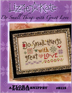 Lizzie Kate Snippets ~ Do Small Things