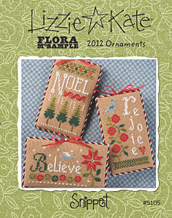 Lizzie Kate Snippets ~ Flora McSampler 2012 Ornaments