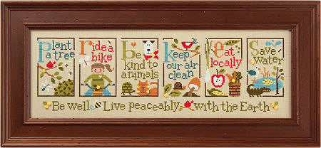 Lizzie Kate Flip-Its ~ Green Flips  Set of 6