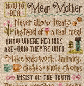 Lizzie Kate Charts ~ How To Be A Mean Mother