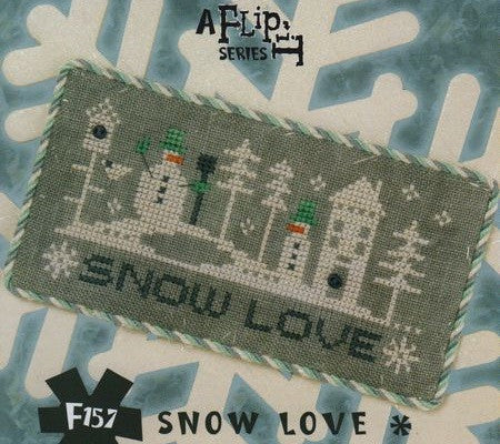 Lizzie Kate Flip-Its ~ Snow*Story ~ Snow Love