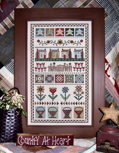 Designs by Linda Myers ~ Country Band Sampler