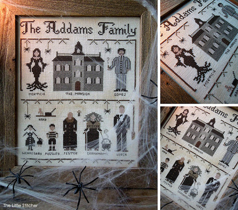 The Little Stitcher ~ The Addams Family
