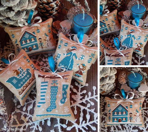 The Little Stitcher ~ Blue Christmas