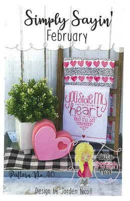 Little Stitch Girl ~ Simply Sayin February