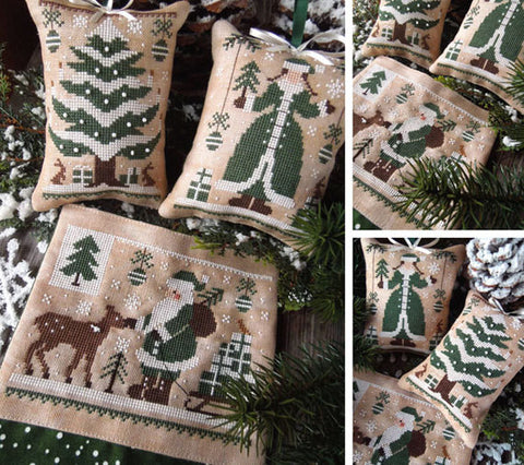 The Little Stitcher ~ Green Christmas