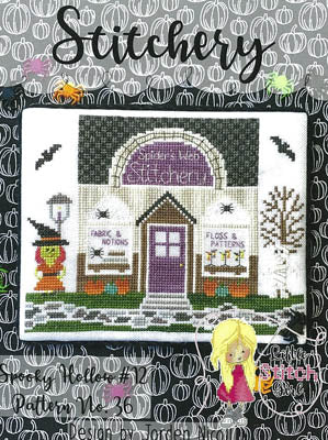 Little Stitch Girl ~ Stitchery