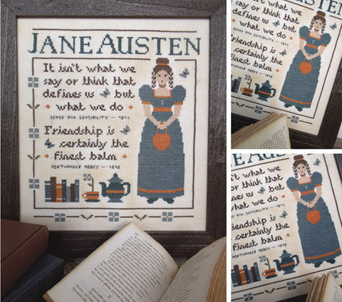 The Little Stitcher ~ Jane Austen