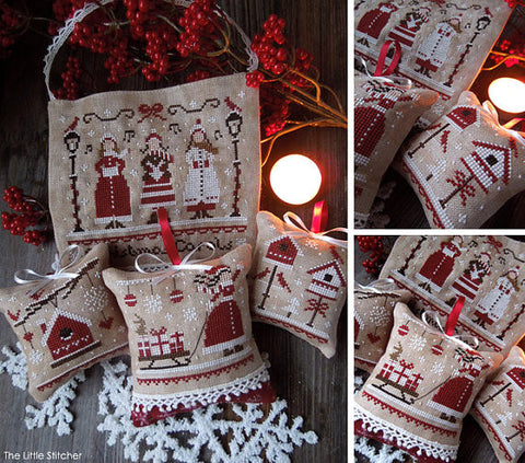 The Little Stitcher ~ Red Christmas