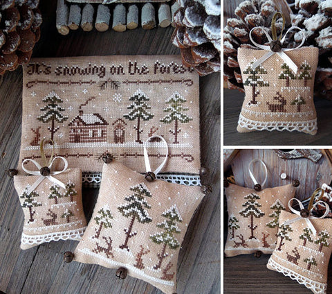 The Little Stitcher ~ The Snowy Forest