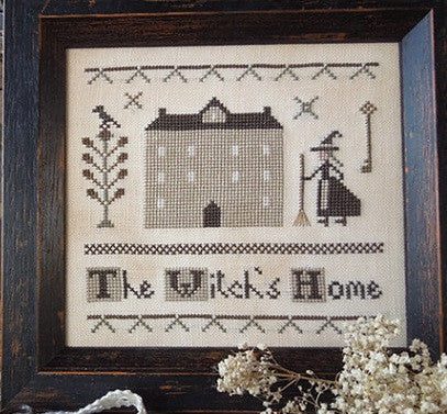 The Little Stitcher ~ The Witches Home