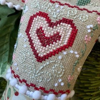 Luhu Stitches ~ Little Winter Fling - February