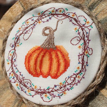 Luhu Stitches ~ Pumpkin, Pumpkin
