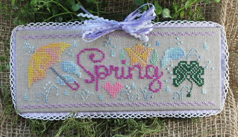 Luhu Stitches ~ Spring Fling (first in a series!)