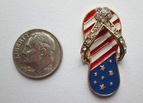 Needle Minder ~ Small USA Flip Flop