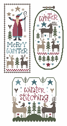 Marjorie Massey ~ Wish You a Merry Winter (three charts)