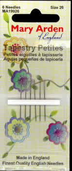 Mary Arden Tapestry Petites Needles ~ Size 26 ~ 6pk