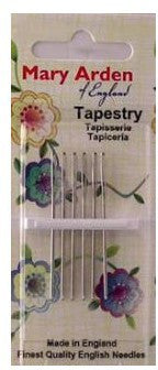Mary Arden Tapestry Needles ~ Size 28 ~ 5pk
