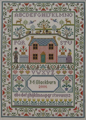 Moira Blackburn Designs ~ Country Cottage Sampler
