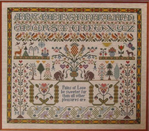 Moira Blackburn Designs ~ Pains of Love Sampler