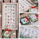 Madame Chantilly ~ Christmas Stamps