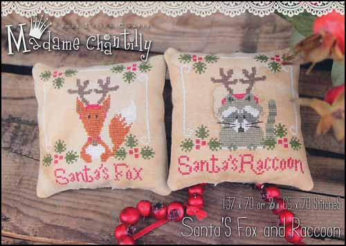 Madame Chantilly ~ Santa's Fox & Raccoon