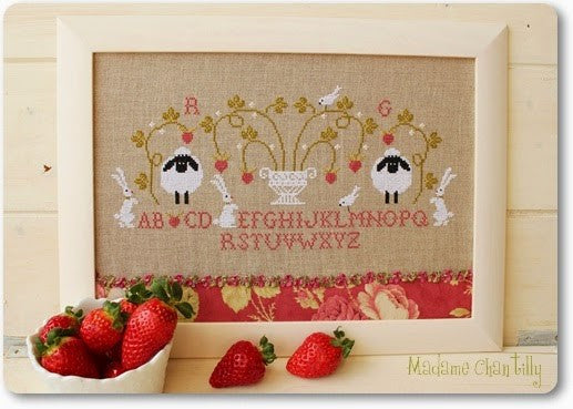 Madame Chantilly ~ Fraises (Strawberries)