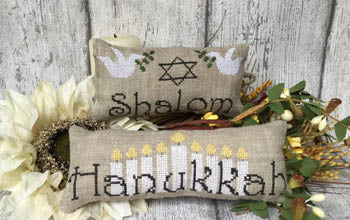 Mani di Donna ~ Jewish Pillows Chart