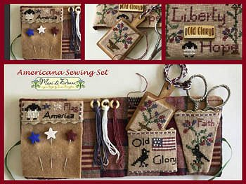 Mani di Donna ~ Americana Sewing Set