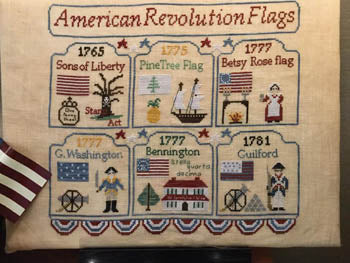 Mani di Donna ~ American Revolution Flags