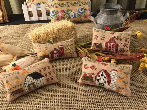 Mani di Donna ~ Seasonal Harvest Pillows