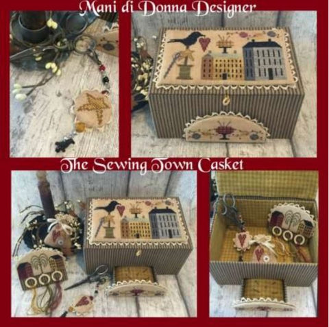 Mani di Donna ~ The Sewing Town Casket (pattern only!)