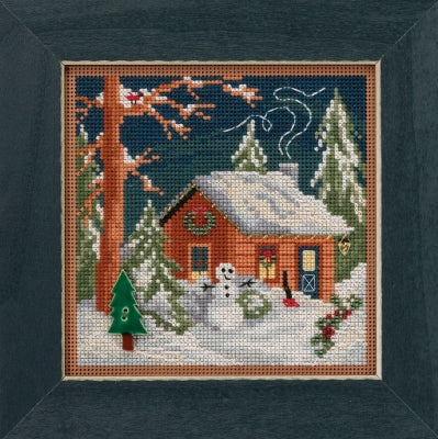 Mill Hill Kits ~ Christmas Cabin (2018)