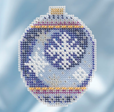 Mill Hill Kits ~ Beaded Ornaments - Midnight Snowfall