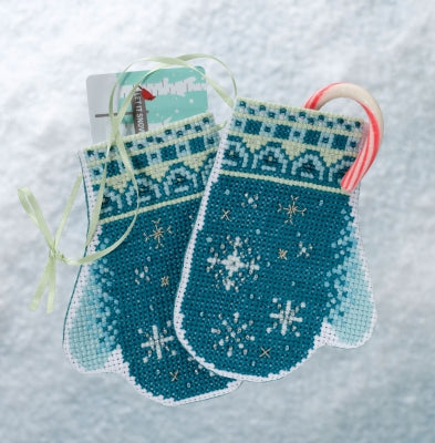 Mill Hill Kits ~ Snowflake Mittens (2018)