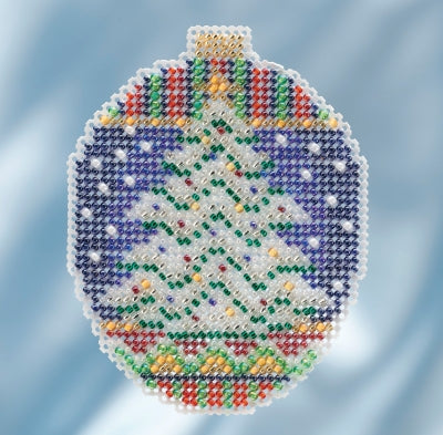 Mill Hill Kits ~ Beaded Ornaments - Icy Evergreen