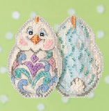 Mill Hill Kits ~ Jim Shore Chicks Kits - 6 colors to choose from, super cute!