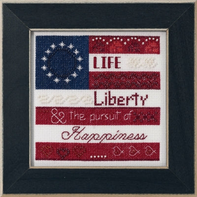 Mill Hill Kits ~ Life, Liberty (2019)