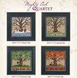 Mill Hill Kits ~ Might Oak Quartet