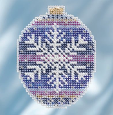 Mill Hill Kits ~ Beaded Ornaments - Royal Snowflake