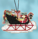 Mill Hill Kits ~ Sleigh Ride Ornaments