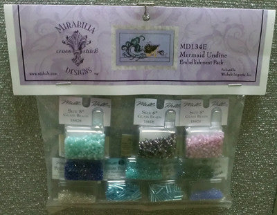 Mirabilia ~ Mermaid Undine Emb. Pack
