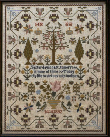 Moira Blackburn Designs ~ Maria Short Sampler